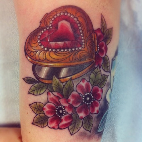tattoosforpassionnotfashion:  done by cristina garcia