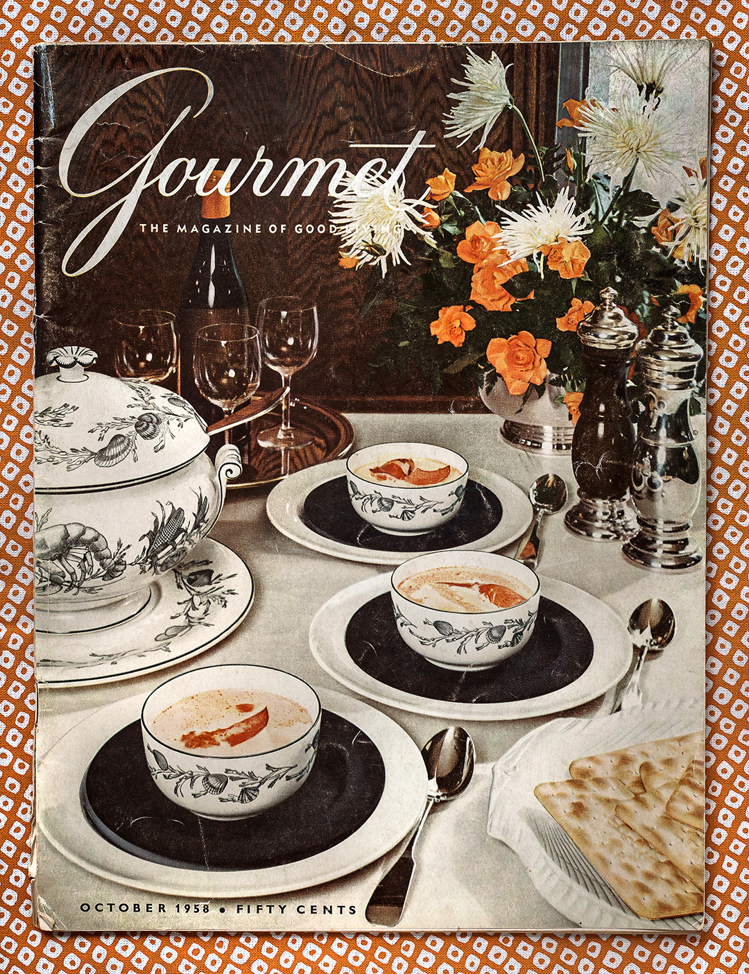 Gourmet: October 1958