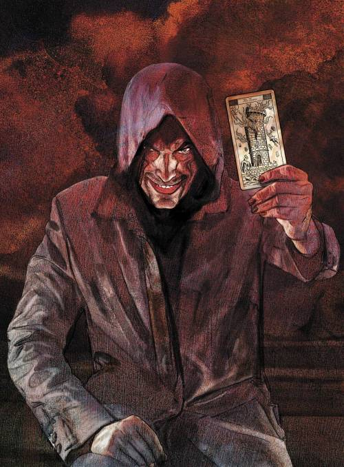 "Market Monday Dark Tower: The Gunslinger - The Man in Black #5, co-written by Robin Furth  ""Not an end, but the end of the beginning!"" The Man in Black's identity is finally revealed to Roland! Don't miss the captivating conclusion to the adaptation of Stephen King's celebrated novel!"