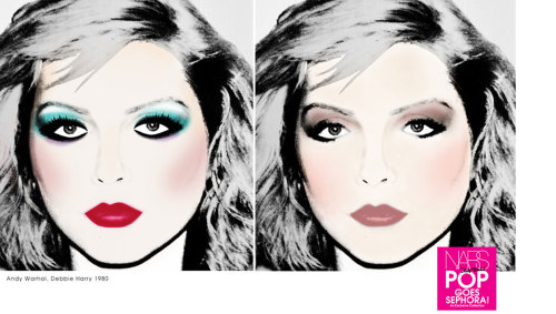 sephora:  Create striking full-face makeup looks with the NARS Andy Warhol collection. SHOP IT HERE ▸