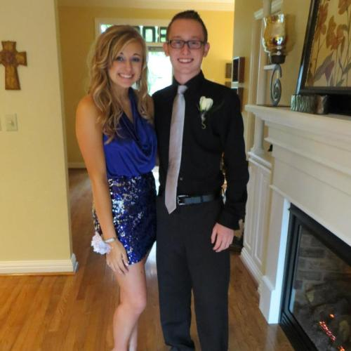 Homecoming this weekend with my boyfriend, Cameron. It's been a wonderful three day weekend.