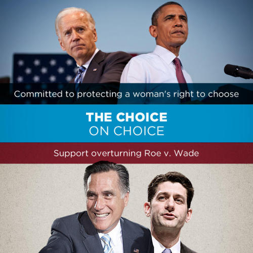 "demnewswire:  Facts Matter: Choice ""I do not believe that we have a right to tell other people that — women they can't control their body. It's a decision between them and their doctor. In my view and the Supreme Court, I'm not going to interfere with that."" - Vice President Joe Biden Commit to vote 