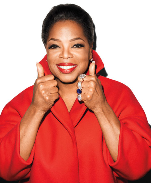 Oprah by Terry Richardson for Harper's Bazaar. [more]