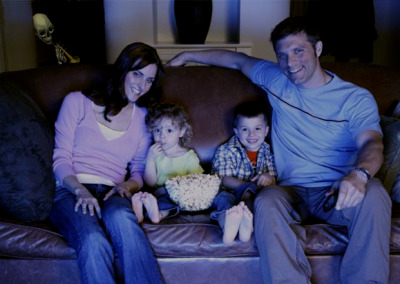 "causticantilogy:  Wow, would you look at that.  It's a family watching a nice movie.  Nothing weird about that, right? Wrong. The Williamson family wanted to take a picture of themselves enjoying their new TV.  Turned out this photo of them would be the last one ever taken.  The entire family was found dead the next morning.  Don't believe me?  Look in the upper-left corner of the photo.  Do you see it?  That's the thing that murdered the Williamson family. It tore off the skin of each of its victims and left a trumpet in their hands.  When their bodies were found by the police the next morning, the words ""doot doot"" were found scrawled in blood on the TV and all over the walls. Tonight this menace will come for you too unless you reblog this within the next ten minutes.  THIS IS NOT FAKE!!!  Reblog this.  Stay safe.  And if you hear a faint ""doot doot"", there's no point in running.   Because there's nothing you can do to escape it."