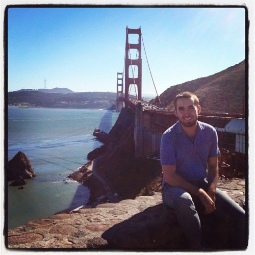 San Francisco! #GoldenGateBridge #SanFrancisco #SanFran  (Taken with Instagram)