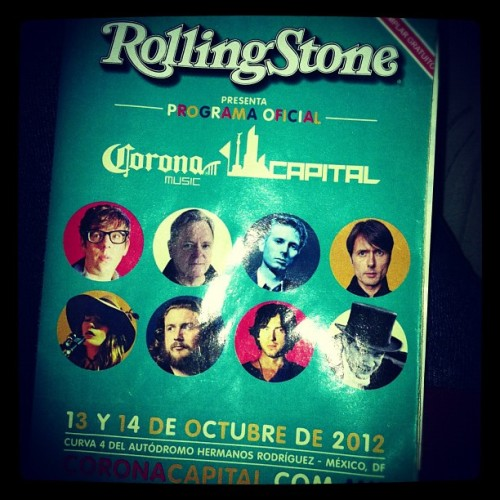 Corona capital (Tomada con Instagram)