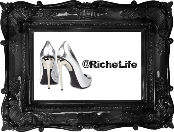 Riche Life by richelife featuring pointed toe heels