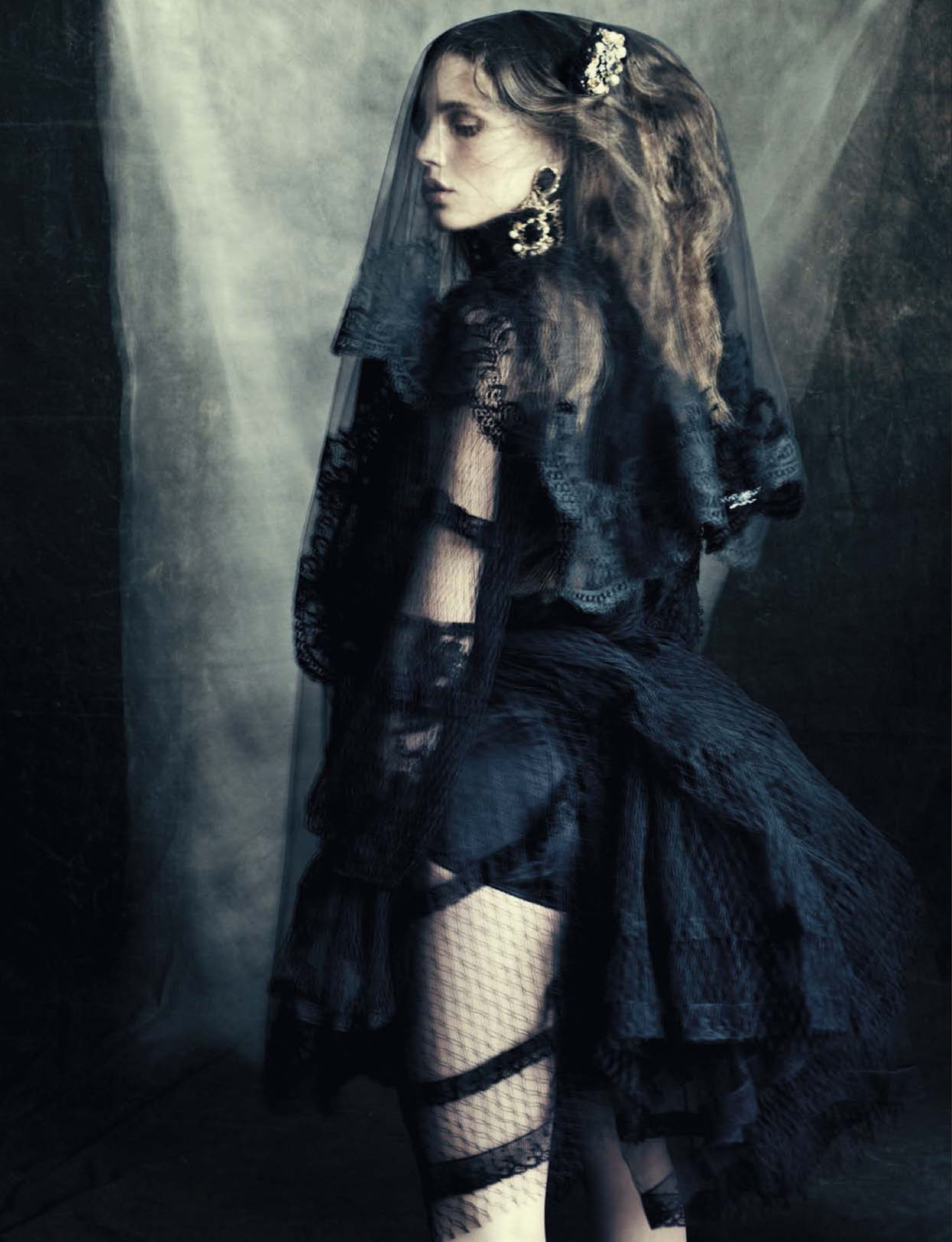 VOGUE ITALIA  OCTOBER 2012  Marine Vacth by Paolo Roversi