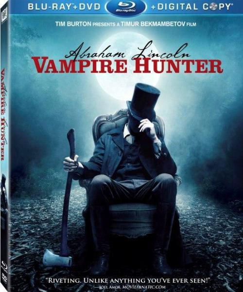 You guys want a fun Halloween movie, watch Abraham Lincoln Vampire Hunter.  Loved it!  Fun story, loved the whole mood of it, and it's got some really visually-riveting kickass fight scenes.