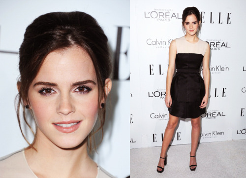 Emma Watson at the ELLE's 19th Annual Women In Hollywood Event