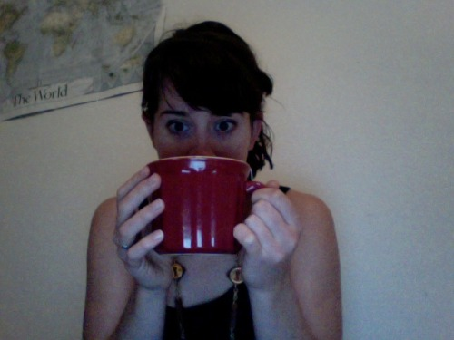 babsigail:  drinking several that sized cups of tea because life.  adorbs haha