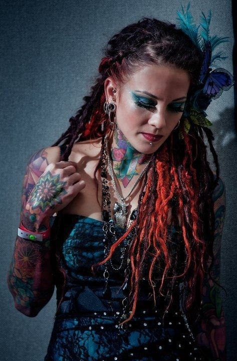 """Dreadlock Styles for Girls"" on TopicBistro.com"