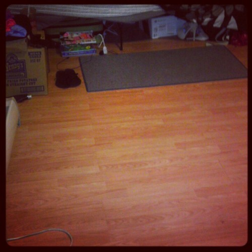 Look what I accomplished in 4 hours!!! =] I cleaned my room, can i have a snack now???  (Taken with Instagram)