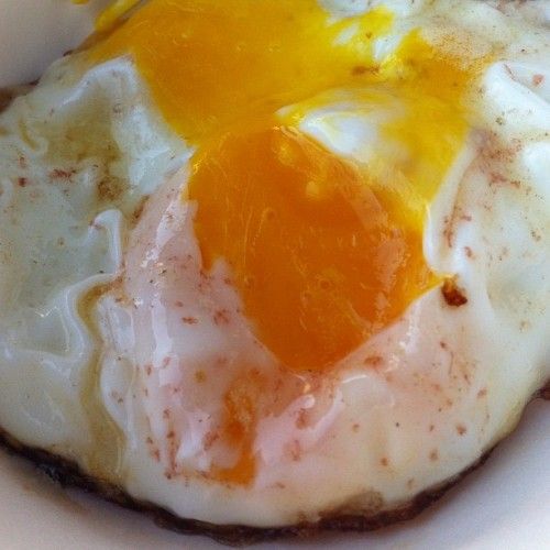 egg station. bk grange. #nofilter (Taken with Instagram)