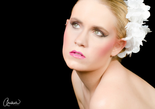 Bridal Beauty with model Briana Fleskes Kesler. Make up artist Merenda Morris.   www.arekahthegoddess.com