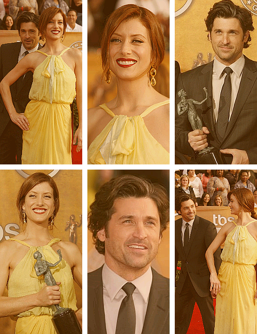 Patrick x Kate - 13th Annual SAG Awards[2007]
