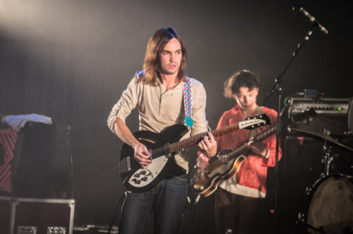 earlysunsetsovermonroeville:  Tame Impala perform at Le Bataclan on October 15, 2012 in Paris, France.