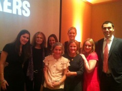 The team behind MAKERS and… the incomparable Gloria Steinem