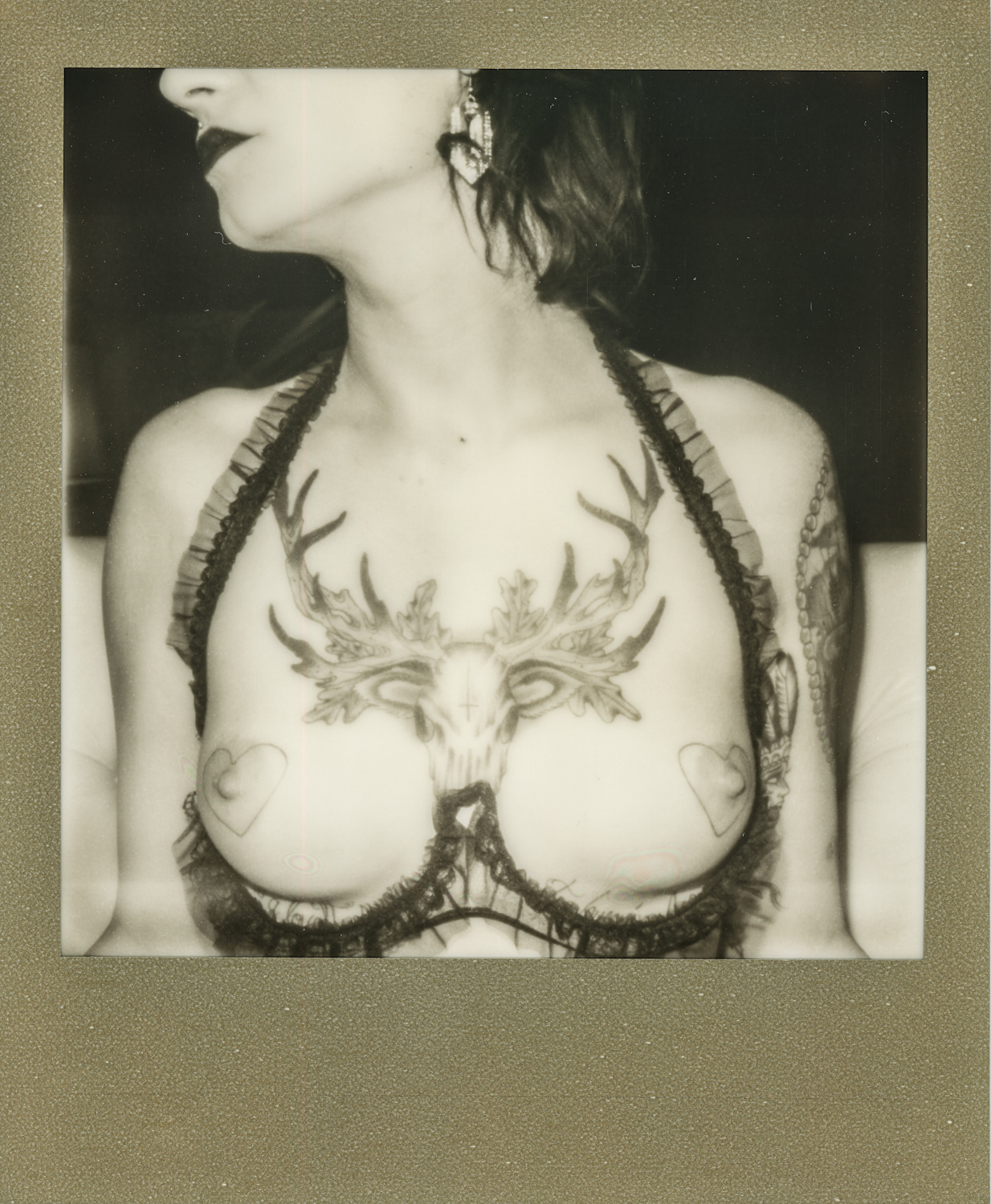 Britny. San Louis Obispo. 2012. Polaroid 436. (Styled by: Julie)