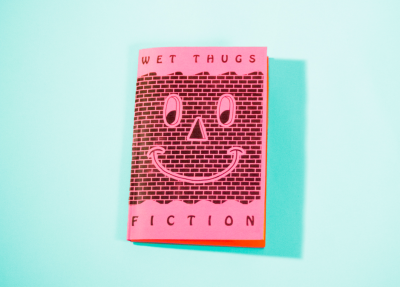 thestudiogold:  cover of our new zine wet thugs zine
