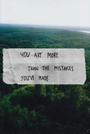 "native-m-o-o-n:  ""you're more than just the mistakes you've made."""