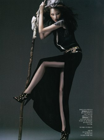 Harper's Bazaar Korea Title: La Boheme Model: Hye Park Photographer: Song Changrae November 2008