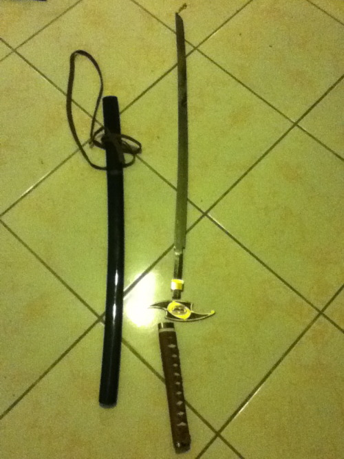 One of my Katanas…My your death be remembered by us all. :'(