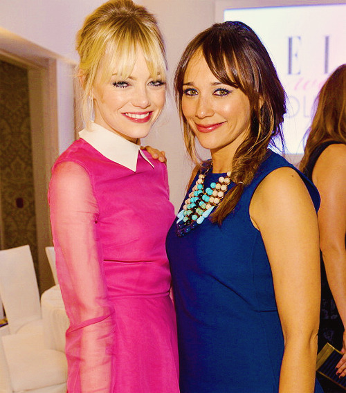 EMMA STONE & RASHIDA JONES