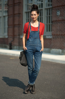 Those overalls are perfection!