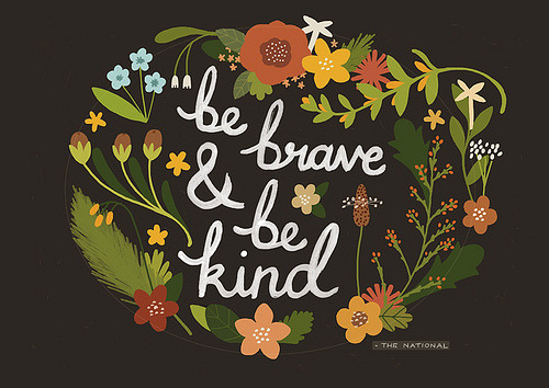 be-the-change:  be kind.