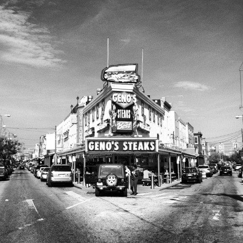 Geno's Philly Steak (via Photo by jnewberin • Instagram)