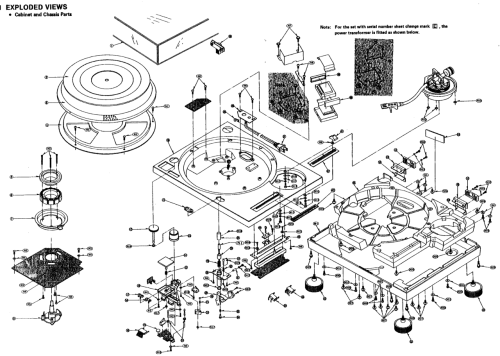 thingsmagazine:  Technics SL-1200 explosion schematic (via things)