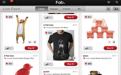 Fab.com remakes itself as a mobile-first company. I think we're going to see a lot more of these transformations in the next 2 years.