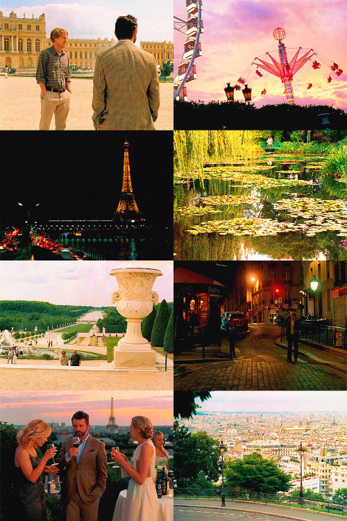 Midnight in Paris - Scenery