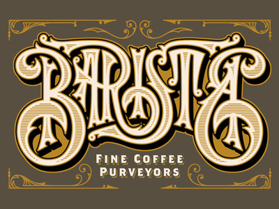 Typeverything.com - Barista PDX by Brett Stenson.