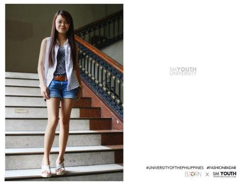 Got featured on SM Youth's Campus Fashion Radar! :)) Forgive me for not smiling. Oh well. =)