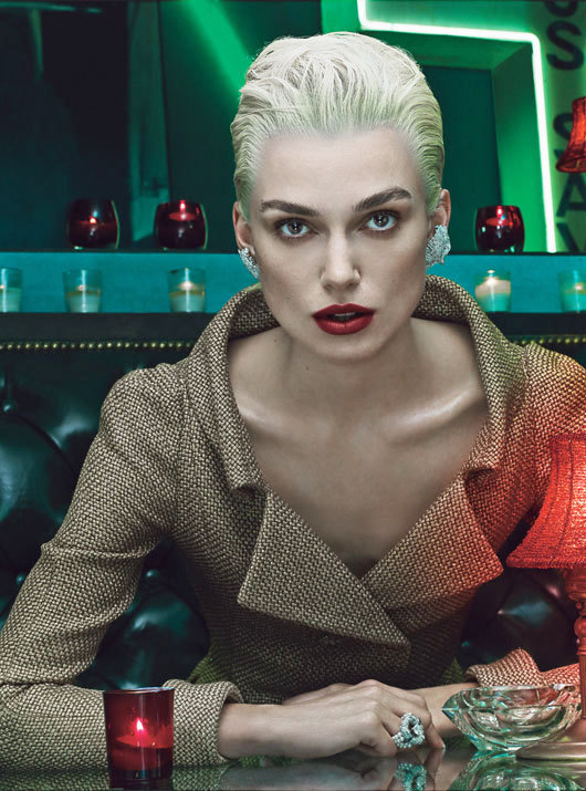 Love  Keira Knightley Channels Tilda Swinton for W Magazine