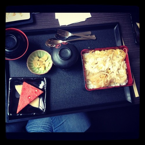 Had Japanese food for lunch.. Nom nomm nomm… #kl #food #restaurant #iphoneography  (Taken with Instagram)