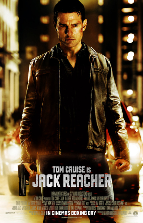 Tom Cruise goes badass in exclusive new Jack Reacher poster Jack Reacher, the eagerly-awaited action thriller starring Tom Cruise as Lee Child's indomitable tough guy, has unveiled a new poster, and you can get an exclusive first look right here…