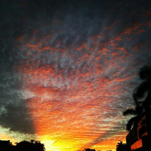 #sunrise  (Taken with Instagram)