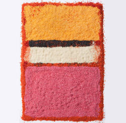 Rothko reinterpreted in rice by Henry Hargreaves + Caitlin Levin.