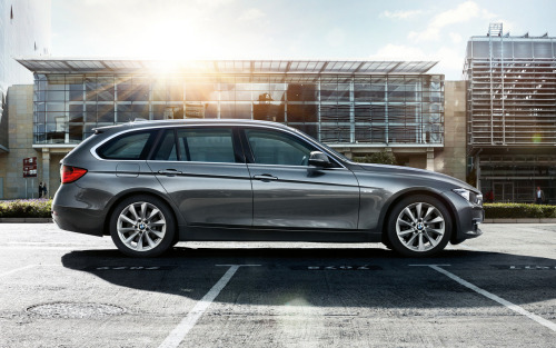 The new BMW 3-series Sports Wagon is coming.  We can't wait.