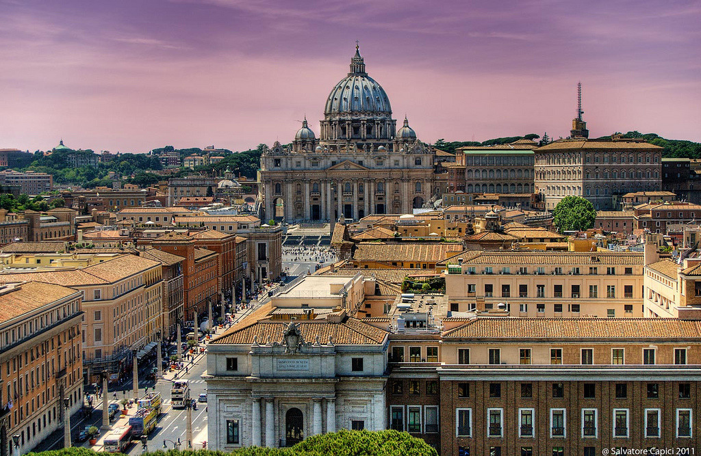 Vatican View (by Salvatore Capici)