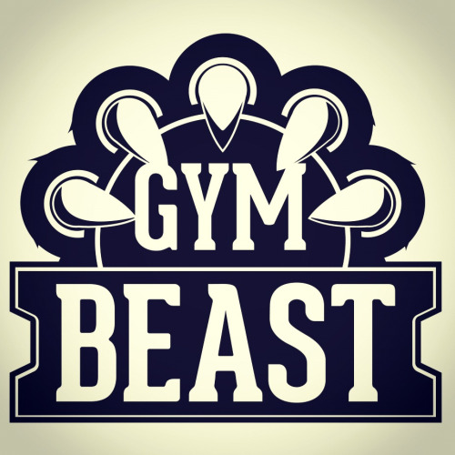 New logo designed for a brand new gym fitness clothing range > be on sale soon so check out http://facebook.com/gymbeastuk - like it and keep up to date!