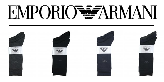 Brand New Emporio Armani Socks! At Hype Direct, we've recently added even more mens designer socks to our Emporio Armani range. So whether you're enjoying a day of at home or tackling a board meeting, we have a pair to fit the occasion. Want some tips and tricks to ensure you always make the right impression? Read our blog post 'Why you need to rethink your sock philosophy..'  Or for our latest offers and new arrivals to our online stores follow us on: