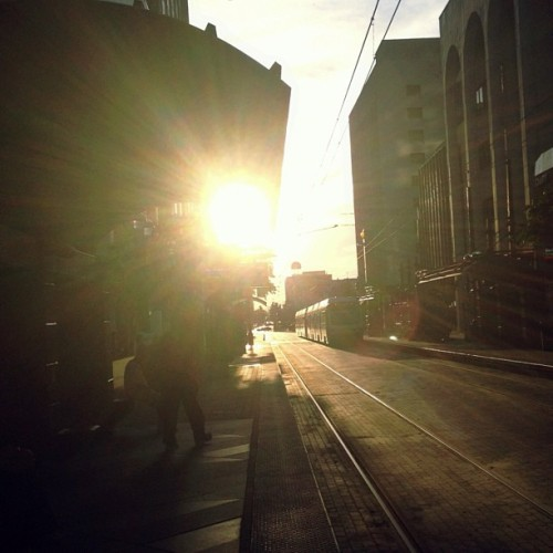 #sun #train #downtown #building #dart #station #people #iphonography #iphone4s #photopower #photography #picoftheday #dailypic #texas #dallas #walk #instagram #instagramers #instagramhub  (Taken with Instagram)