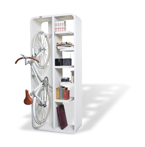 Bookbike – Attractive Book and Bike Storage by BYografia