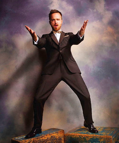 Aaron Paul photographed for Emmy Magazine