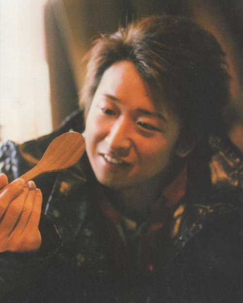 Omedeto, Ohno-san! You are inspirator for us during all this 18 years. Honto ni domo arigato! <3