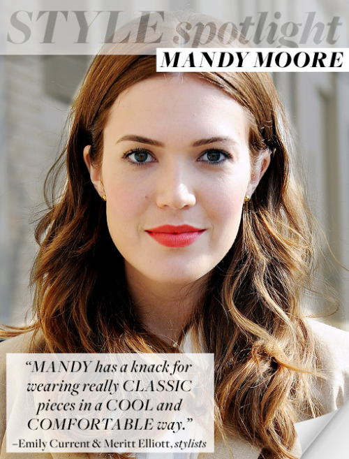 oh hey @themandymoore so #classic #clean & #beautiful #stylespotlight @whowhatwear